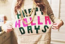 Total Sorority Move | Crafting your own tacky Christmas sweater. TSM.