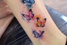 watercolour tattoo
