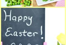 Easter Recipes / Easter Dinner and Spring recipes: all things deviled eggs, Cadbury Creme eggs, Peeps and ham!