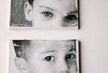 Fotos em tecidos