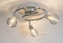 Plafondlamp chroom 59€ / Apart chroom lamp