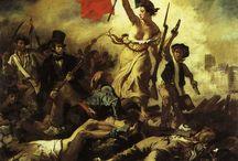 Réalisme / En peinture, le réalisme est un mouvement artistique du XIXe siècle apparu en France vers 1848. Ce mouvement se consacre à la société et plus généralement à une représentation fidèle de la vie quotidienne. Son chef de file est le peintre Gustave Courbet, qui emploie le terme « réalisme » pour désigner cette peinture en 1851. Il est un mouvement spécifiquement français, et trouve des résonances en Europe.