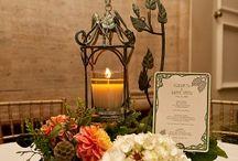 Art-neuveau wedding