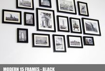 Picture Frames Collage / Create your frame wall in minutes.