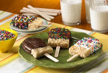 Summer Recipes / Making Rice Krispies Treats® with your kids is a great way to keep summer days from melting away.
