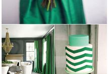 emerald and white inspiration