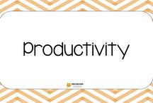 Productivity / Ways to be productive in life