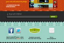 Inspiring Landing Pages / Well designed Landing Pages that inspire and encourage.