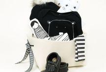 Monochrome Baby Fashion / Black and White Trendy Baby fashion