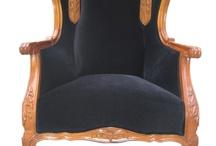 Black by Erika Winters® Design / Restored furniture