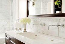 I'd bathe here / bathroom designs, master  bathroom, ensuite / by Tiahna Conrad