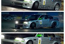 Racing Cars Bmw Drift