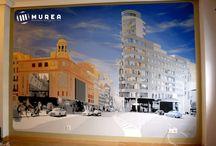 Murales / Murales decorativos en interior y exterior, más trabajos en: http://murea.es/wordpress/