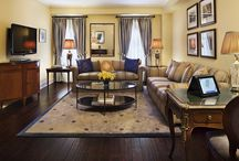 Suite Living at Hotel Plaza Athénée / Take a glimpse of the expansive suites at this Upper East Side luxury hotel.
