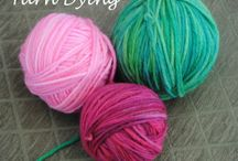 Yarn Dyeing / Methods, tips and tricks for dyeing yarn