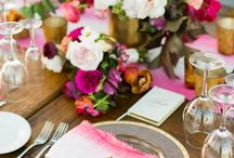 Tablescape Inspiration / Dreamy inspiration for your wedding day table.