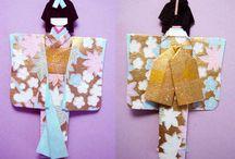 Japanese paper dolls