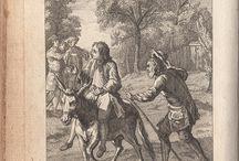 """Edytuj tablicę / Fables de La Fontaine - Recueil 1, Livre 3 / Fables of Jean de La Fontaine - illustrations 1765 edition - """"Fables Choisies"""""""