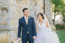 Napa Peach Apricot Pink Stunner Wedding / by Nancy Liu Chin