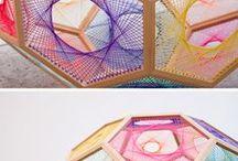 Hexagon string art
