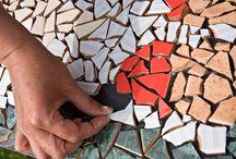 витраж мозаика интерьер