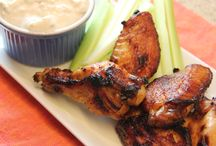 A World of Hot Wings / Mild, medium, hot or something different, chicken wing recipes are a sure-fire hit at the Super Bowl. / by Cooking Channel