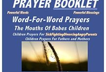 Childrens EMERGENCY Photo PrayerBooklet for Fighting Sick Parents