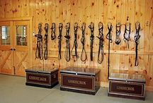 Horse Tack Room / Horse tack