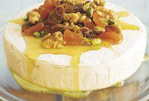 efterrätter  och ost