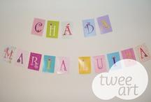 Baby party ideas / Materiais produzidos pela Twee Art e ideias para todos os tipos de festas infantis.