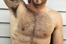 Hot beards and bodies / The beauty of men with hair on their amazing bodies