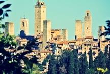 San Gimignano / Město v Toskánsku, které je od roku 1990 na seznamu UNESCO