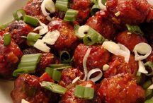 Manchurian Indo-Chinese dish
