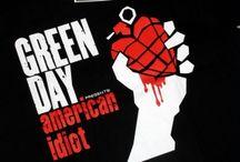 Футболки Green Day / Панк рок футболки Green Day