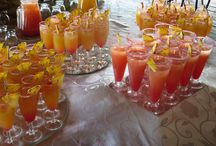 Cocktails at Thaba Tshwene Game Lodge / .