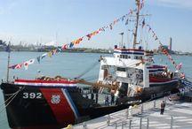 Coast Guard / Historic boats from the US Coast Guard fleet