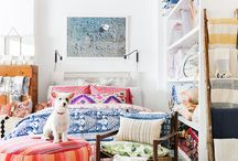 Kid's Playroom / Fabrics and colour schemes