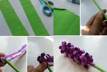 Diy flower / How tomake flower from swirl paper