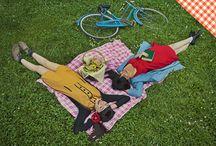 Picnic Sobre Ruedas / Después de una ruta encima de una bicicleta, ¿qué mejor que tomarte un respiro con un picnic en uno de los rincones de la ciudad?