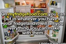 My Food Fridge!