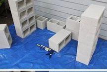 Cement block ideas