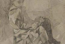 Drawings. / ''Piirrä se niin se lakkaa vaivaamasta sinua'' (  Ramses ja unet )