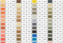 tabela kolorów muliny