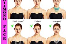 face shapes with accessories