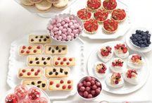 EVENTS: Buffets | Dinner + Dessert