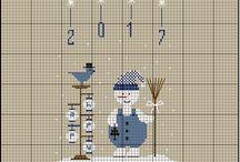 Вышивка Новый год