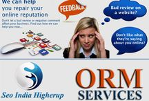 Online Reputation Management / SEO India Higherup offer the online reputation management services which are key to any advertising fight.