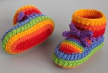 Crochet: Zapatillas / Calcetines