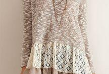 staré svetre