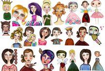 Clipart Dolls